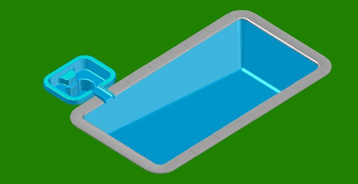 Jacuzzi for Planos de piscinas con jacuzzi